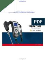 Kimo Kigaz 150 Combustion Gas Analyzer Manual