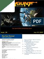 Ray Gun Revival magazine, Issue 25, Anniversary Issue!