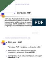 4.2 Pembacaan Meter Elektronik (Sistem Amr)