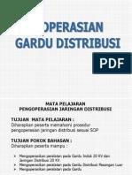 Presentasi 4. Pengoperasian Gardu Distribusi