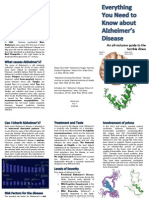 Alzheimer's Brochure