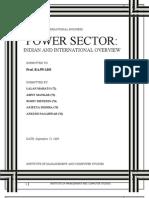 International Business (Power Sector)