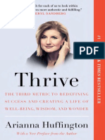 Thrive by Arianna Huffington - Excerpt