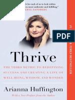 Thrive by Arianna Huffington - Excerpt