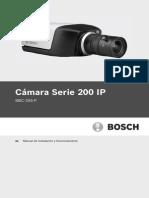Installation Guide EsES 1995548683 Camara Bosch