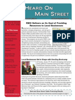 Heard on Main Street Winter 2012-13 Newsletter-Online