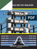 Catalogue for Post insulators