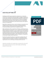 Albertsson Consulting Datasheet Competency Development