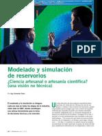L02 - Modelado y Simulacion de Reservorios Ciencia Artesanal o Artesania Cientifica