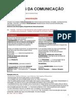 Modelos da Comunicação - Apontamentos exame