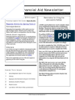 Charter Oak State College Financial Aid Newsletter - Volume 1, Issue 1 - February 2014