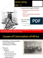 WebNotes - 2014 - Scramble for Africa and the Berlin Conference