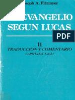 Fitzmyer, Joseph a - El Evangelio Segun Lucas 02