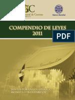 Compendio de Leyes de Contraloria 2011