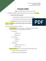 Pronoun Notes