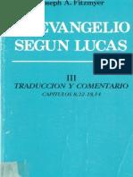 Fitzmyer, Joseph a - El Evangelio Segun Lucas 03