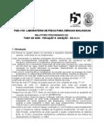 FÍSICA PARA CIÊNCIAS BIOLÓGICAS -TUBO DE SOM
