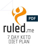 Ruled Me 7 Day Keto Diet Plan