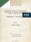 ANTEPROYECTO TAJO-SEGURA 1967 TOMOI MEMORIA