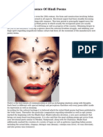 Discover The Essence Of Hindi Poems