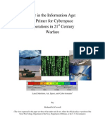 War in the Information Age - A Primer for Cyberspace Operations in 21st Century Warfare - R M Crowell