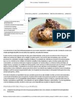 Pollo a La Mostaza - Recetasderechupete