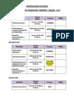 Coloquios Profesorado Feb-marzo 2014