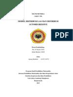 Distribusi Lag Dan Distribusi Autoregressive