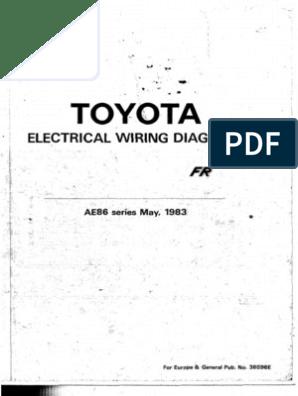 ae86 wiring diagram ae86 corolla gt electrical   wiring diagrams eur aus  ae86 corolla gt electrical   wiring