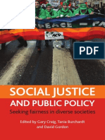 Social Justice and Public Policy- Seeking Fairness in Diverse Societies (Gordon D. - Craig G. - Burcgardt T., 2008)