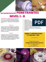 Liquidos Penetrantes Nivel i y II