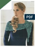 Indoor Shawl Crochet Pattern