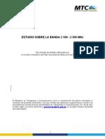 Estudio Sobre Banda 2500 2690 MHz