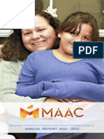 MAAC Annual Report 2012 - 2013