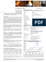 ETFS Fact Sheet Physical Platinum Us