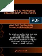 Diapositivas - Parametros Urbanisticos - Licencia de Construccion