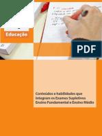 Referencial de Conteudos Ensino Fundamental e Ensino Medio
