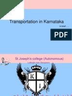 Transportation in Karnataka