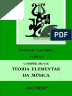 Osvaldo Lacerda - Compêndio de Teoria Elementar da Música