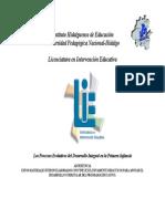 04 Los Procesos Evolutivos Del Desarrollo Integral en La Primera Infancia