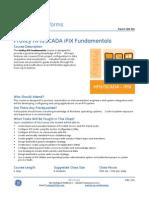 CBS-154 Proficy HMI SCADA iFIX Fundamentals