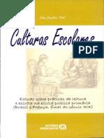Culturas Escolares - Diana Vidal