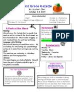 Newsletter Week 7