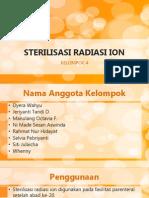 sterilisasi radiasi ion