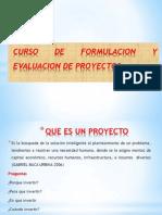 Curso de Proyectos