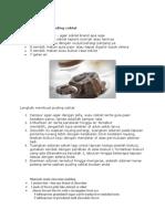 Bahan Membuat Puding Coklat