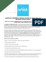 ArtistEcard's Comprehensive Marketing Platform for Artists, Bands and DJs Receives Notable Interest