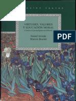 169993043 Samuel Arriaran y Mauricio Beuchot Virtudes Valores y Educacion Mkoral Contra El Paradigma Neoliberal UPN