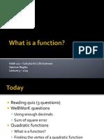 3 Functions Quad