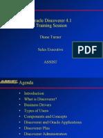 Oracle Discoverer Basics